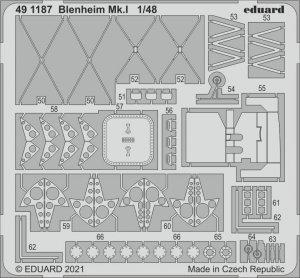 Eduard 491187 Blenheim Mk.I AIRFIX 1/48