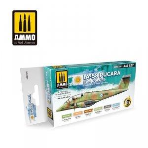 AMMO of Mig Jimenez 7242 IA-58 PUCARÁ FAA COLORS SET 6x17ml