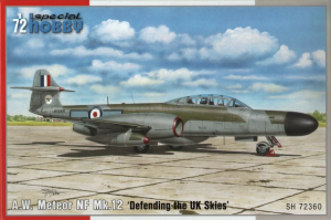 Special Hobby 72360 Gloster Meteor Night Fighter Mk.12 1/72