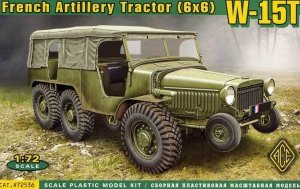 ACE 72536 French Artillery Tractor W-15T (1:72)