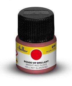 Heller 9019 019 Bright Red - Gloss 12ml