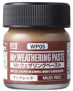 Gunze Sangyo WP05 Weathering Paste Mud Red (40ml)