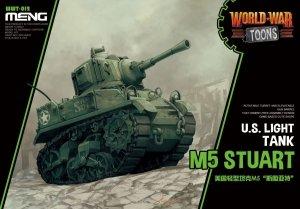 Meng Model WWT-012 U.S Light Tank M5 Stuart