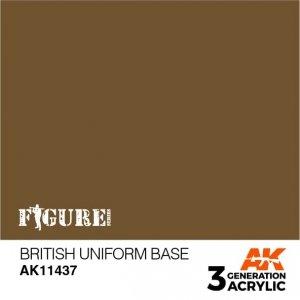 AK-Interactive AK 11437 British Uniform Base 17ml