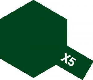 Tamiya X5 Green (81505) Acrylic paint 10ml
