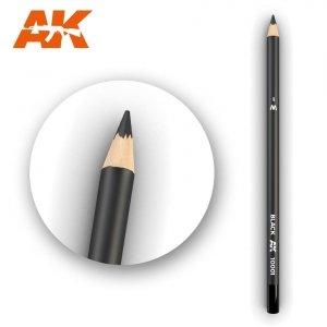 AK Interactive AK 10001 Watercolor Pencil Black