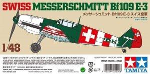 Tamiya 25200 Swiss Bf109 E-3 1/48