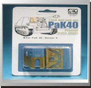 AFV Club AG35012 Pak 40 Etching Parts 1:35