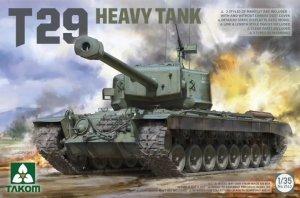 Takom 2143 T29 Heavy Tank 1/35