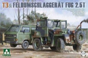 Takom 2141 T3 & Feldumschlaggerat Fug 2.5t 1/35