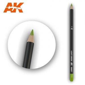 AK Interactive AK 10007 Watercolor Pencil LIGHT GREEN