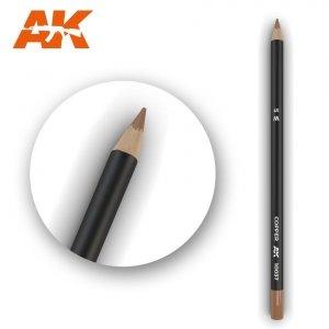 AK Interactive AK 10037 Watercolor Pencil COPPER