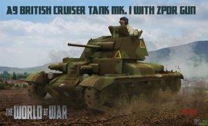 IBG WaW 011 A9 British Cruiser tank 1/72