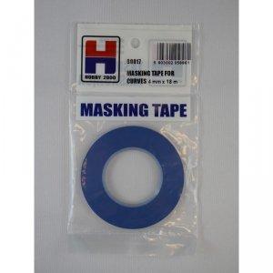 Hobby 2000 80017 Masking Tape For Curves 4mm x 18m