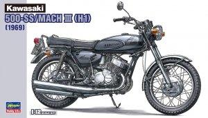 Hasegawa 21510 (BK10) Kawasaki 500-SS/MACH III (H1) 1/12