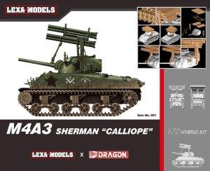 Dragon 7677 M4A3 Sherman Calliope (Lexa Models x Dragon Models) Hybrid Kit 1/72