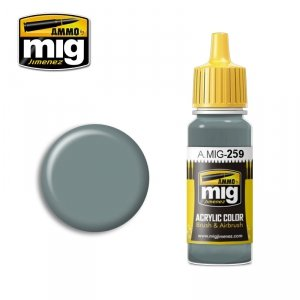 AMMO of Mig Jimenez 259 - IJA Light Grey Green 17ml
