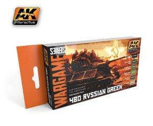 AK Interactive AK 1553 4bo russian green set (wargame series)