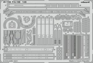 Eduard 491194 F/A-18E MENG 1/48