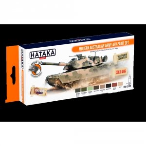 Hataka HTK-CS108 Modern Australian Army AFV paint set (8x17ml)