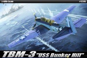 Academy 12285 TBM-3 (USS Bunker Hill) (1:48)