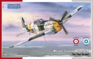 Special Hobby 72405 Morane Saulnier MS-410C.1 'The Final Version' 1/72