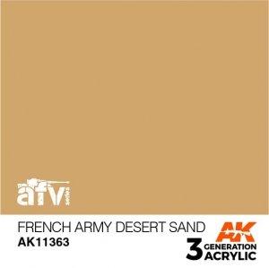 AK-Interactive AK 11363 French Army Desert Sand 17ml