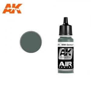 AK Interactive AK 2271 WWI GERMAN FOKKER GREY 17ml