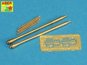 Aber A32026 Set of two barrels for Japanese 30 mm Type 5 aircraft machine cannons (1:32)