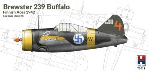Hobby 2000 72011 Brewster 239 Buffalo Finnish Aces 1942 1/72