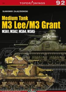 Kagero 7092 Medium Tank M3 Lee / M3 Grant EN/PL