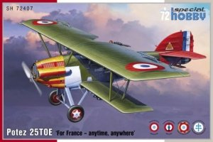 Special Hobby 72407 Potez 25TOE 'For France -anytime, anywhere' 1/72