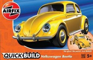 Airfix J6023 QUICK BUILD VW Beetle yellow