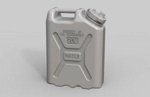 EUREKA XXL E-044 US Military Water Canisters 1:35