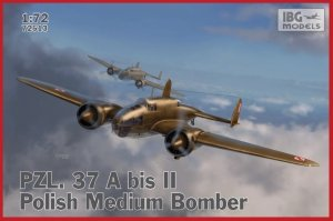 IBG 72513 PZL 37 A bis II Łoś - Polish Medium Bomber 1/72