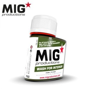 Mig Productions P282 WASH FOR INTERIOR (75ML)
