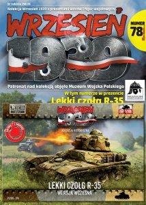 First to Fight PL078 Lekki Czołg R-35 - wersja wczesna 1/72