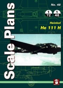 Stratus 81968 Scale Plans No. 48 Heinkel He 111 H