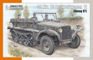 Special Armour 72021 Sd.Kfz 10 Zugkraftwagen 1t 1/72
