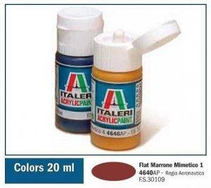 Italeri 4640AP FLAT MARRONE MIMETICO 1. 20ml