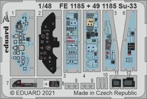 Eduard 491185 Su-33 MINIBASE 1/48