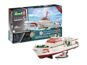 Revell 05198 Search & Rescue Vessel HERMANN MARWEDE Platinum Edition 1/72