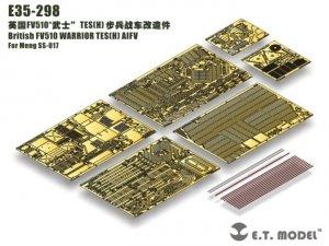 E.T. Model E35-298 British FV510 WARRIOR TES(H) AIFV For Meng SS-017 1/35
