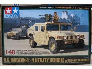 Tamiya 32567 U.S. Modern 4x4 Utility Vehicle with Grenade Launcher (1:48)