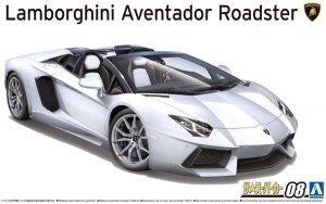 Aoshima 05866 12 Lamborghini Aventador Roadster 1/24