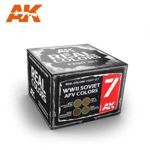 AK Interactive RCS007 WWII SOVIET AFV COLORS SET (4x10ml)