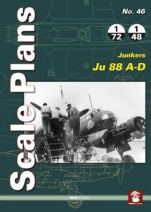 Stratus 81944 Scale Plans No. 46: Junkers Ju 88 A-D
