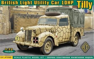 ACE 72500 British Light Utility Car 10HP (Tilly) (1:72)