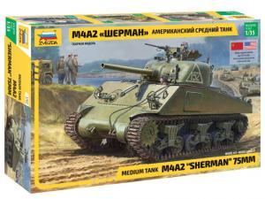 Zvezda 3702 M4A2 Sherman 1/35