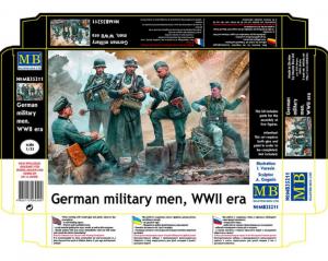 Master Box 35211 German military men, WWII era 1/35